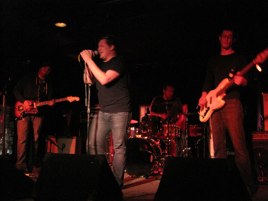 Ideal Fathers played a sweet, punky set for a willing crowd last Thursday night at the Hi-Dive. (Photo: Ideal Fathers)
