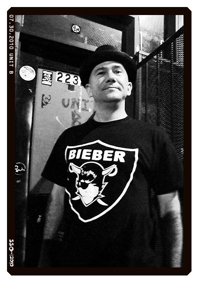 "The ""Bieber"" t-shirt promises to be a hit. (Photo: Tammy Shine)"