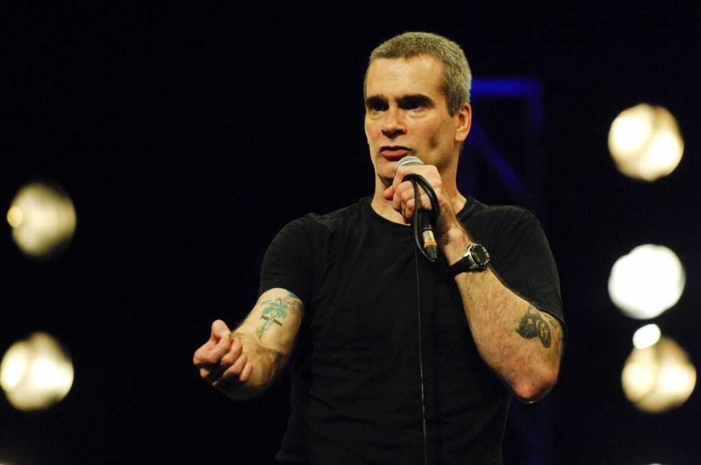 Henry Rollins entertained a packe Paramount Theater for damn-near three solid hours. (Photo: Swift River Productions)