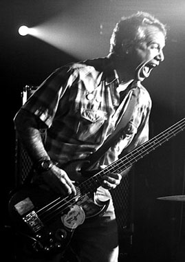 Watt onstage, circa 2005. (Photo: Mike Watt)