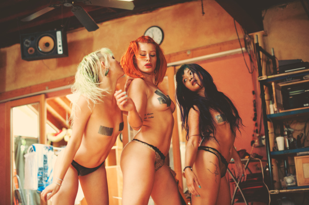Suicide Girls in Rehearsal (Photo: Suicide Girls Press)