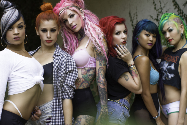 Suicide Girls in Repose (Photo: Suicide Girls Press)