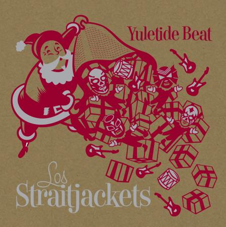 Surf-rock's favorite luchadores, Los Straitjackets, have released another rockin' collection of Christmas tunes. (Cover: Yep Roc)