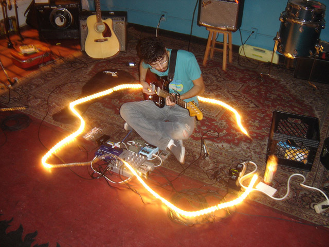 Kevin Greenspon plays with light at the same time. (Photo: Kevin Greenspon)
