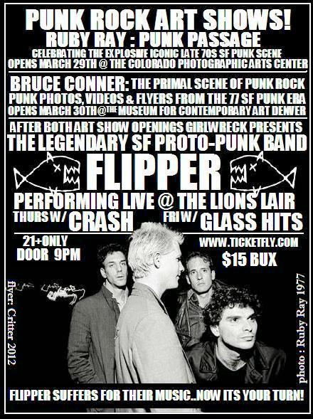Flipper at the Lion's Lair - 3/29-30/2012